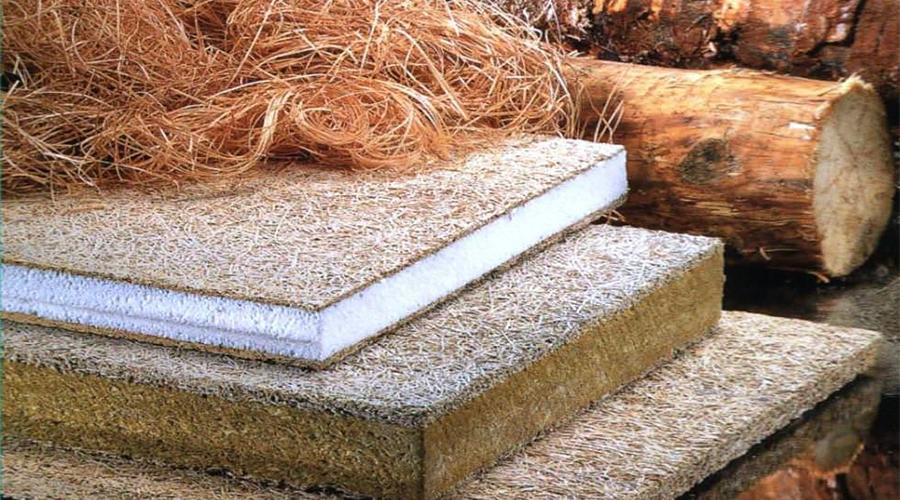 Теплоизоляция из древесины.